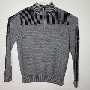 Rock & Republic Mens XL Grey Long Sleeve Pullover